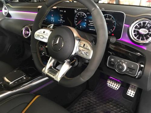 Mercedes a35s interior clean