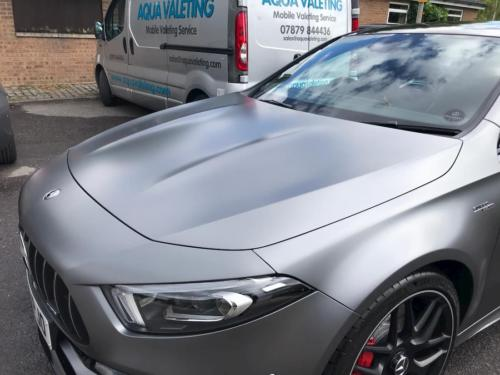 Mercedes a35s clean outside